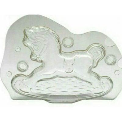 قالب کریستال طرح اسب