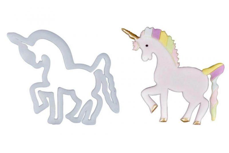 کاتر پلاستیکی طرح اسب تک شاخ