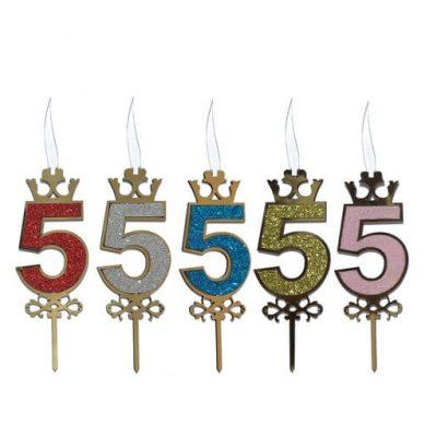 تاپر کیک اعداد-2
