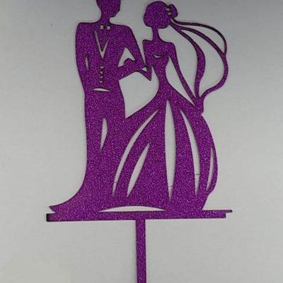 تاپر کیک عروس و داماد-1