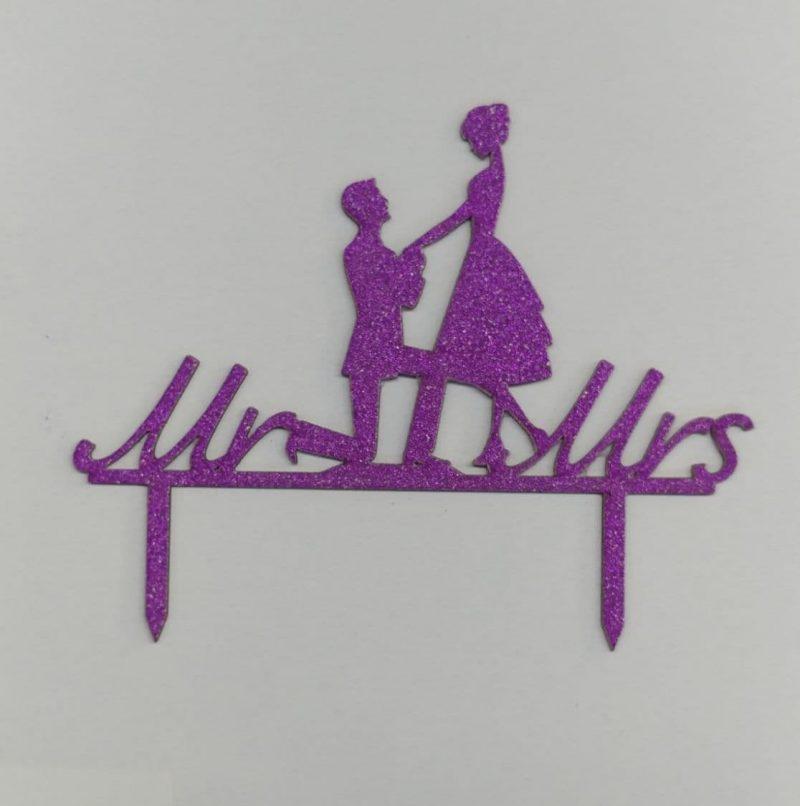 تاپر کیک مرد و زن