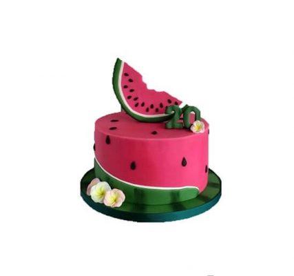 تاپر کیک هندوانه -2