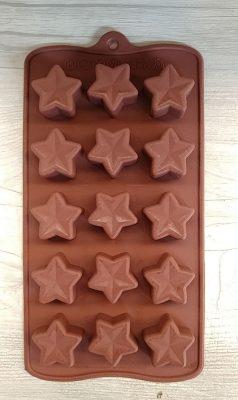 قالب سیلیکونی شکلات ستاره -3
