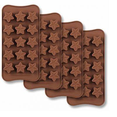قالب سیلیکونی 2-شکلات ستاره