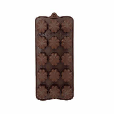 قالب سیلیکون شکلات طرح شبدر