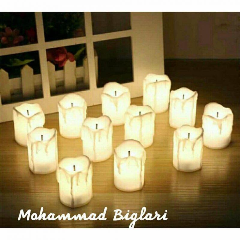 اشکی LED شمع وارمر