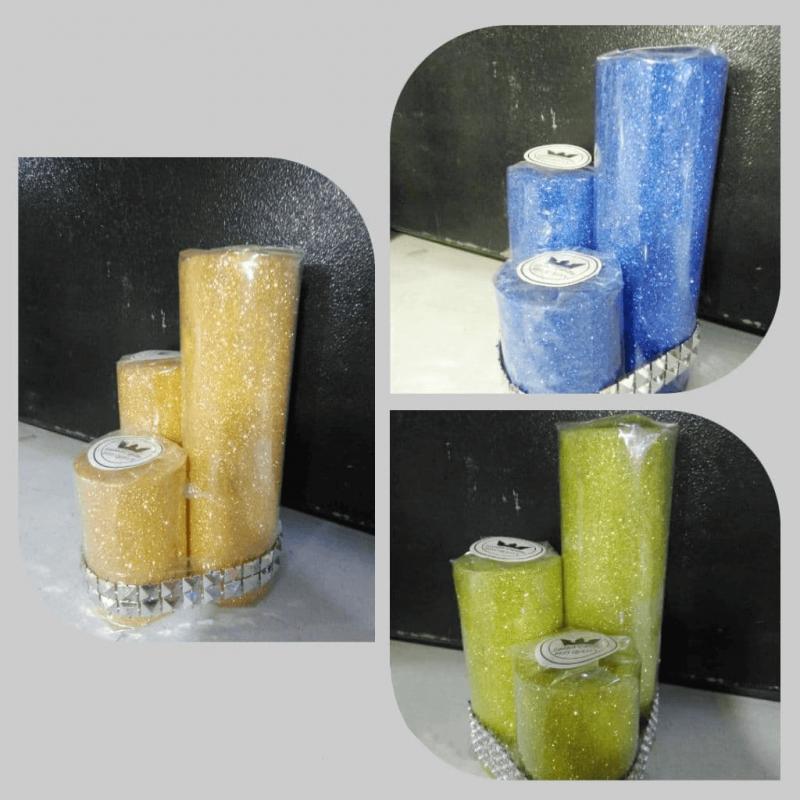 شمع استوانه گرد اکلیلی-1