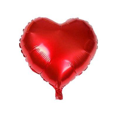بادکنک فویلی قلب کوچک