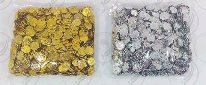 سکه طلایی و نقره ای مبارک باد_4