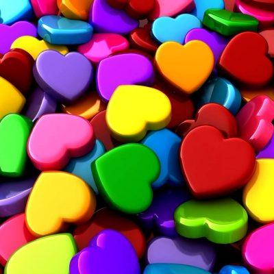 قلب پارچه ی۲۵۰ عددی سبز -2