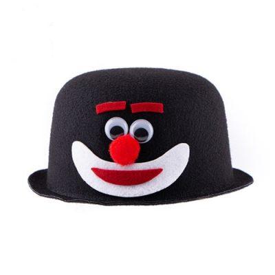 کلاه نمدی طرح دلقک