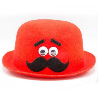 کلاه نمدی طرح سیبیل